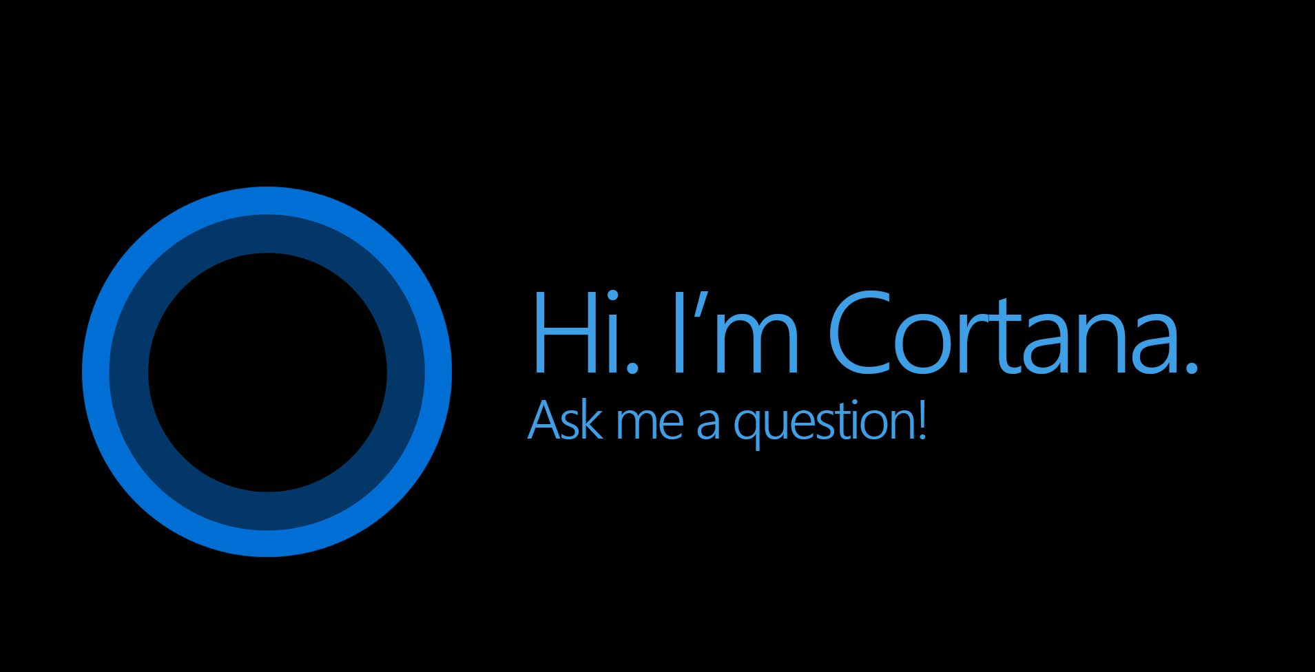 Windows 10, Cortana si mostra