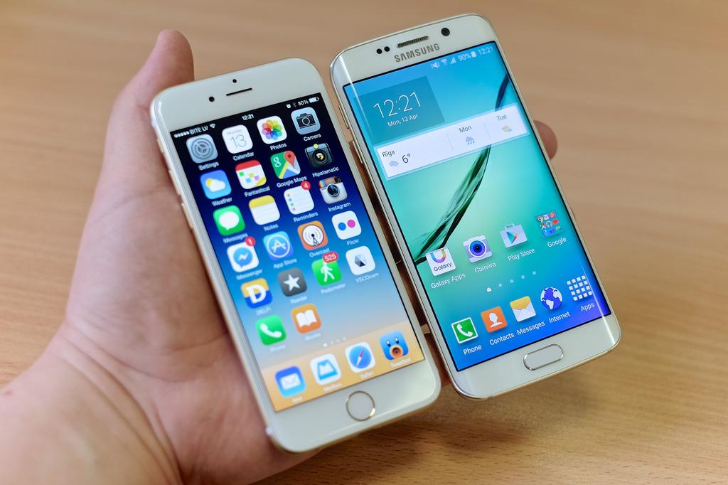 Galaxy S6, prime foto del device marcato Samsung
