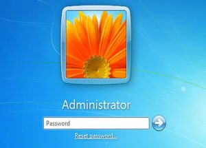 password windows 7